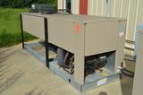 Twin Fan Condenser; Type R-22 Refrigerant  with Bohn 3-Fan Evaporator (Ceiling Mounted in Cooler)