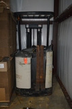 Crown Lift 3000 Series Stand-Up Fork Lift, with Battery Charger