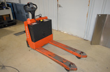 Toyota Electric Pallet Jack, with Built-In Battery Charger