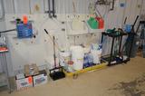 Lot - Ecolab Centaur Allocator Pump, Foam-it Portable Foamer, Assorted Sanitation Equipment and Supp