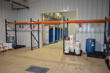 (3) Sections of 96 in x 42 in x 8 ft High Pallet Racks