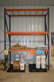 (1) Section of 96 in x 42 in x 12 ft  High Pallet Rack