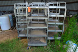 (12) S/S 5-Tier Carts