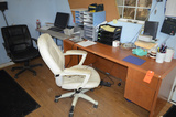 Lot - Balance of Office Furniture and Supplies in Office