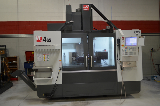 Haas Model VF-4SS Super Speed CNC Vertical Machining Center, S/N: 1157767 (