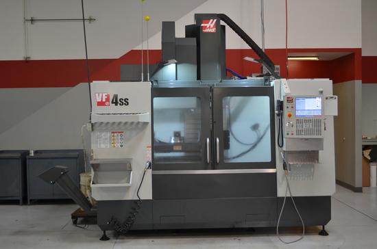 Haas VF-4SS Super Speed CNC Vertical Machining Center, S/N: 1157331 (2018);