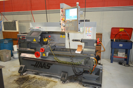Haas TL-2 CNC Lathe, S/N: 3087591 (2011); with Haas CNC Color Touch Screen
