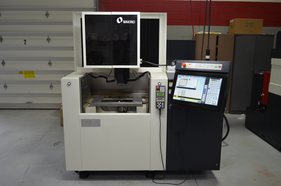 Makino U3 CNC Wire Electrical Discharge Machine (EDM), S/N: W140451 (2017);