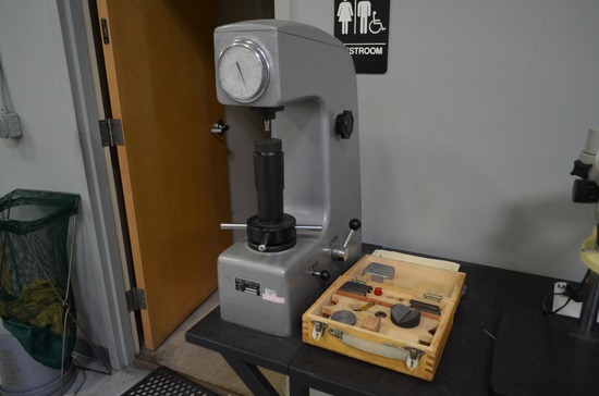 Rockwell Model HR-150A Bench-Top Hardness Tester, S/N: 2044 (2000)