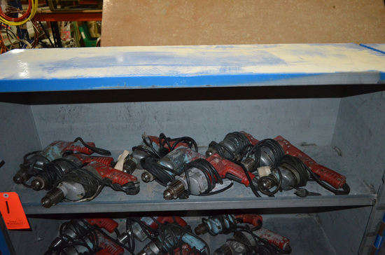 Lot - (9) Milwaukee Electric Drills
