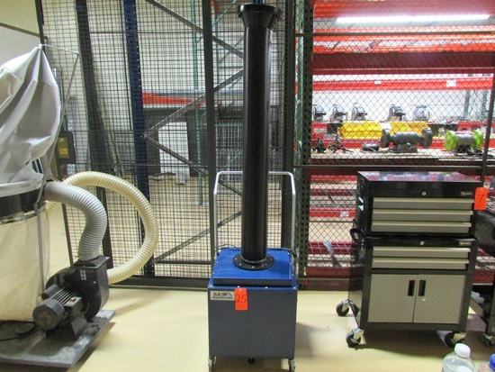 Sentry Air Systems INC Portable Air Filtration Unit, with Part No. SS-400-CFP Carbon Pre Filter, and