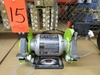 """Ryobi 6"""" Double End Benchtop Grinder, 1/2"""" Arbor, 3600RPM 120V, Serial Number FG16075D0185221"""