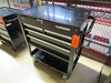 Husky 4-Drawer Open Top Rolling Tool Box, with Assorted Hand Tools and Contents, Serial Number 20170