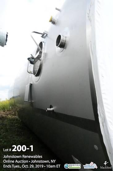 Feldmeier, Model SV-25000-150, 25,000 Gallon Stainless Steel Vertical Jacke