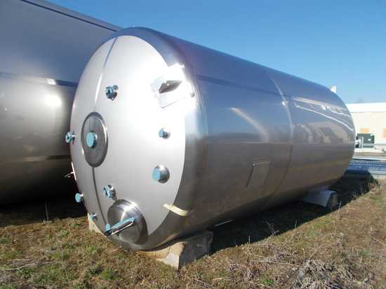 Membrane Process & Controls, 6,000 Gallon Stainless Steel Vertical Insulate
