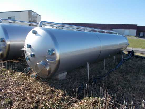 Membrane Process & Controls, 5,000 Gallon Stainless Steel Vertical Single W