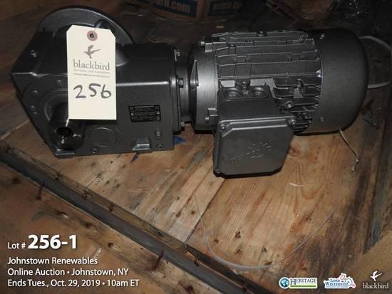 Nord Drivesystems agitator motor and drive