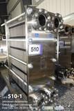 Shanghai Renze, Model TR150-201, Stainless Steel Plate Heat Exchange, 20 in