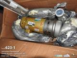 SPX 5 HP stainless steel centrifugal pump model W+35/35 (SN 1000003146669)