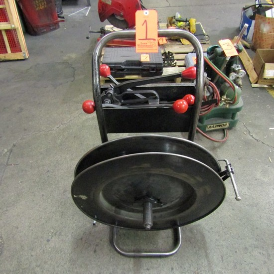 Portable Banding Cart, with Related Tools