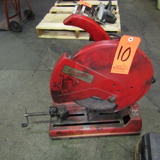 Milwaukee 14 in. Model 6175 Bench-Top Abrasive Cut-Off Saw, S/N: 96011987