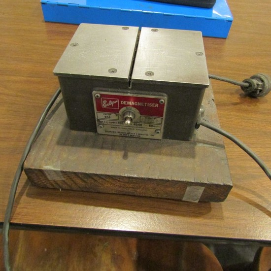 Eclipse Model 956 Demagnetiser, S/N: 55109