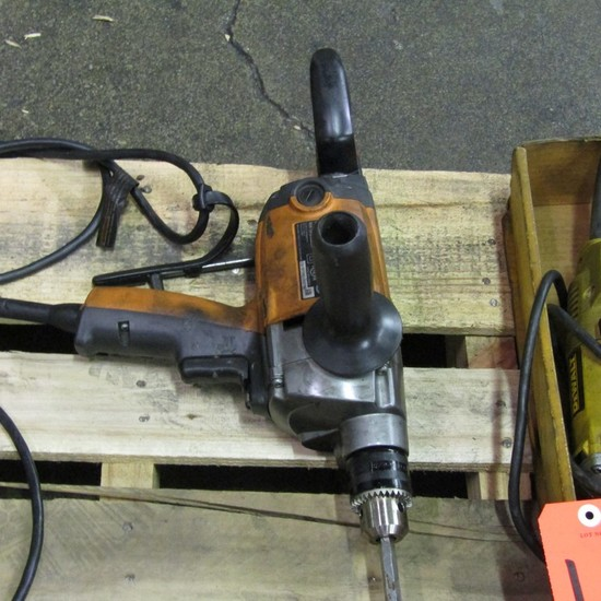 Ridgid 1/2 in. Model R71211 Electric Drill, S/N: CS12135D253750; with Mixin