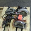 Lot - (4) Power Tools, to Include: (2) SkilSaw Circular Saws, (1) Black & D