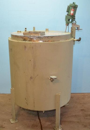 350 Gallon S/S Vertical Jacketed Prop Agitated Tank, Location: Y-02