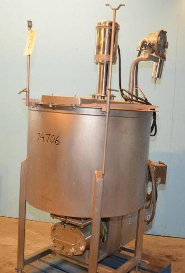 Cozzini CSMH1000 150 Gallon Cozzini Prop Agitated Suspension Mixing Tank with 5 HP PD Pump
