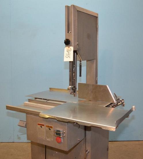 Biro Manufacturing Co 3334 Biro Model 3334 S/S Table Meat Saw, Location: E-04E