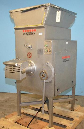 Hollymatic Incorporated 4000MM Hollymatic Model 4000MM S/S Mixer Grinder 2001, Location: E-04E