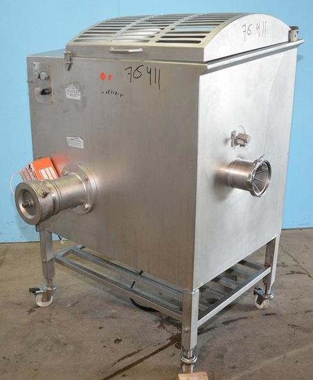 Hollymatic Incorporated 3000MM Hollymatic Model 3000MM S/S Mixer Grinder 75 Lbs Per Minute 2002,