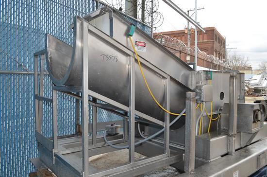 L and A Process Systems L and A Process Systems Hydraulic S/S Frozen 50 Gal Drum Breaker /
