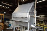 36 in W x 34 in L S/S Dewatering Hopper, Location: Y-03