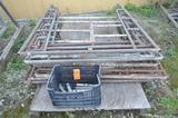 Lot - Qty (10) - 62 in. Wide x 76 in. High Scaffold Uprights, Location: Y-01