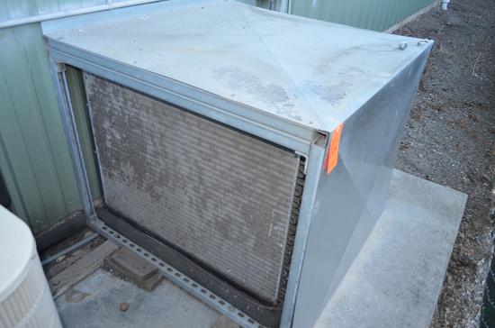 Lot - Refrigerant Compressor with (2) Ceiling Mounted Evaporators