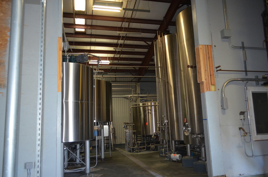 4-Vessel Brewhouse with Hot and Cold Liquor Tanks, Installed in 2015