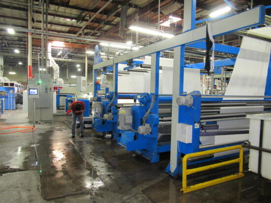 Knitting, Dying & Textile Finishing Equip. Auction