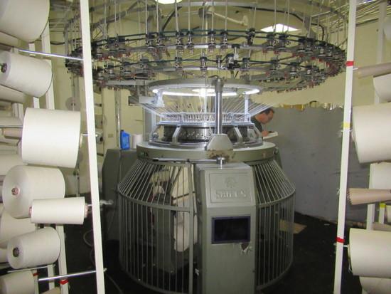 Sames Machinery Co. 32 in Knitting Machine, Model SO75, S/N  F-001-002SS-SF, 14 Cut, 96 Feed with IR