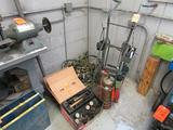 Lot - Assorted Torching and Welding Supplies, to Include: Welding Cart with Torch Hose and