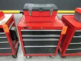 Craftsman Model 706.136030 4-Drawer Rolling Toolbox; with Open-Top Toolbox, Assorted Hand Tools and