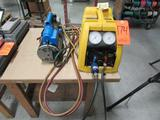 Bacharach Model 2000 Stinger Refrigerant Recovery Unit, S/N; HS1346; with Ritchie Yellow Jacket Test