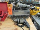Lot - (2) Porter Cable Electric Power Tools: (1) Model 7602 18Ga Shear, (1) Model 557 Plate Joiner