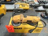 DeWalt Electric Power Tools: (1) Model DW400 4-1/2 in. Angle Grinder, (1) Model DW318 VS