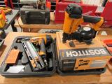 Bostitch Pneumatic Nailers: (1) Model RN46-1 Industrial Coil Roofing Nailer, (1) Model