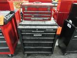 Craftsman Model 706.597790 5-Drawer Rolling Toolbox; with Waterloo Model PCH2030 3-Drawer Open-Top