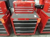 Craftsman Model 706.299060 4-Drawer Rolling Toolbox; with Waterloo Model PCH2030 3-Drawer Open-Top