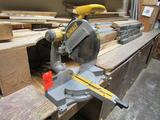 DeWalt 12 in. Model DW708 Compound Sliding Miter Saw