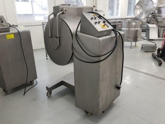 Ruhle 150 Liter Cap. Model MKR150 Stainless Steel Vacuum Tumbler Mixer, S/N